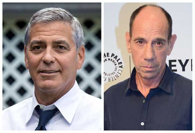 George Clooney is listed (or ranked) 3 on the list 19 Sets of Famous Cousins