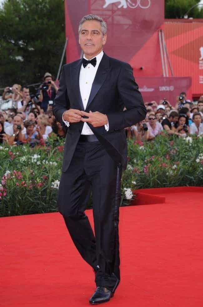 George Clooney is listed (or ranked) 6 on the list The Best Dressed Male Celebrities