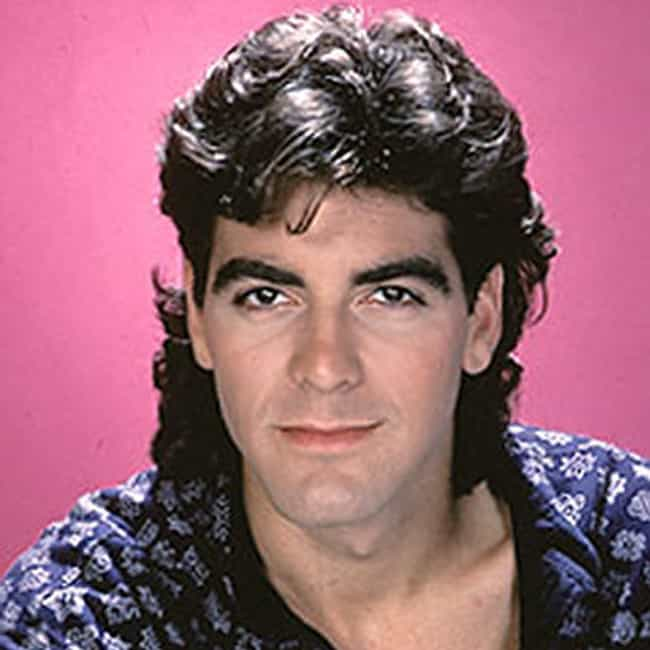 George Clooney is listed (or ranked) 3 on the list The Most Epic Celebrity Mullets Ever. Ever.