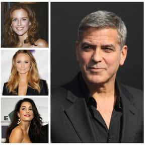 George Clooney is listed (or ranked) 9 on the list The Biggest Manwhores in the Entertainment Industry
