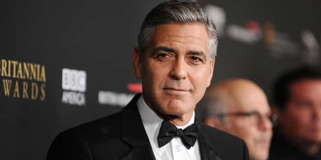 George Clooney is listed (or ranked) 3 on the list Famous Friends of Angelina Jolie