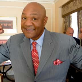 George Foreman is listed (or ranked) 18 on the list The Most Influential Athletes Of All Time
