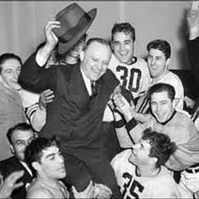 George Halas is listed (or ranked) 8 on the list The Best NFL Coaches of All Time