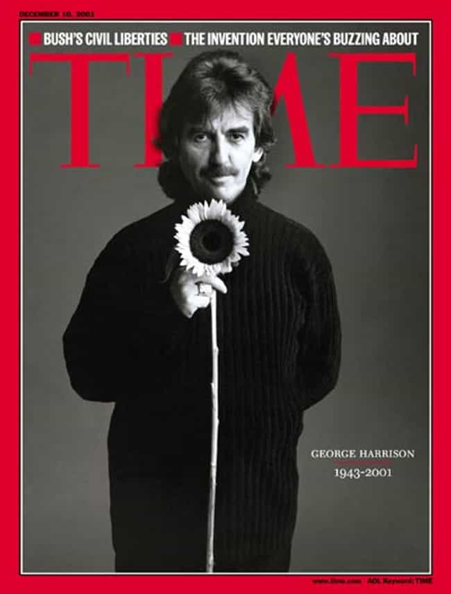 George Harrison is listed (or ranked) 8 on the list The Most Powerful Time Covers