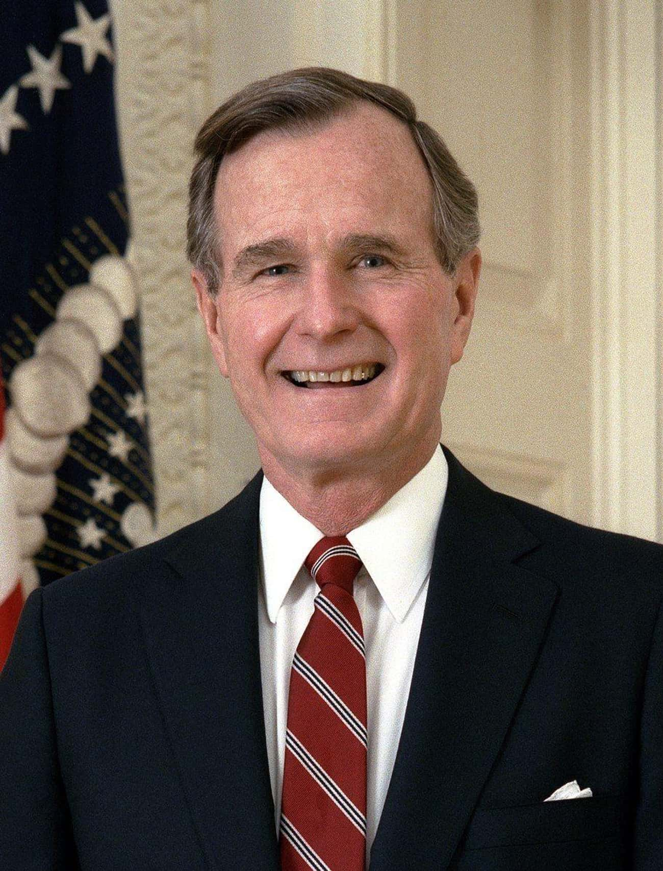 George H. W. Bush - Oil Rig Painter