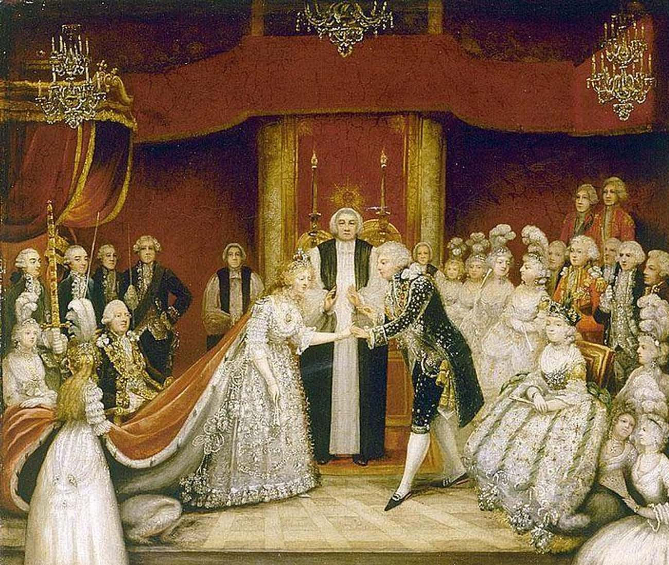 King George IV Was Drunk And C is listed (or ranked) 4 on the list The Most Disastrous Royal Weddings In History