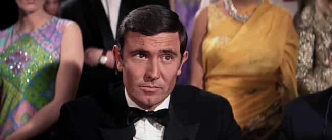 George Lazenby is listed (or ranked) 1 on the list Why 'On Her Majesty's Secret Service' Is - And Always Will Be - The Weirdest Bond Movie Ever