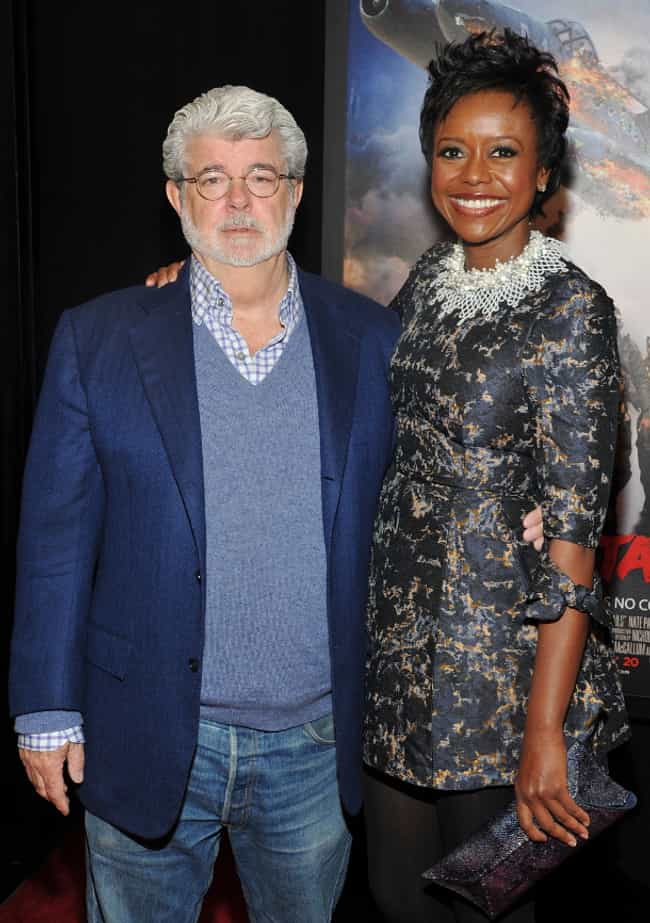 George Lucas is listed (or ranked) 4 on the list Interracial Couples Alert! These Famous White Men Are Married To Black Women
