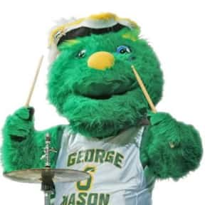 George Mason University is listed (or ranked) 16 on the list Universities With The Dumbest College Mascots