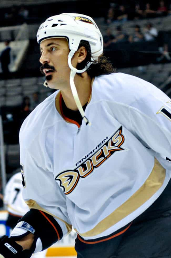 George Parros is listed (or ranked) 2 on the list The Worst Hairstyles in NHL History