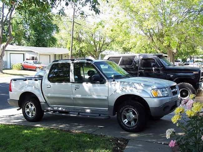 2008 Ford Explorer Sport Trac Is Listed Or Ranked 4 On The List