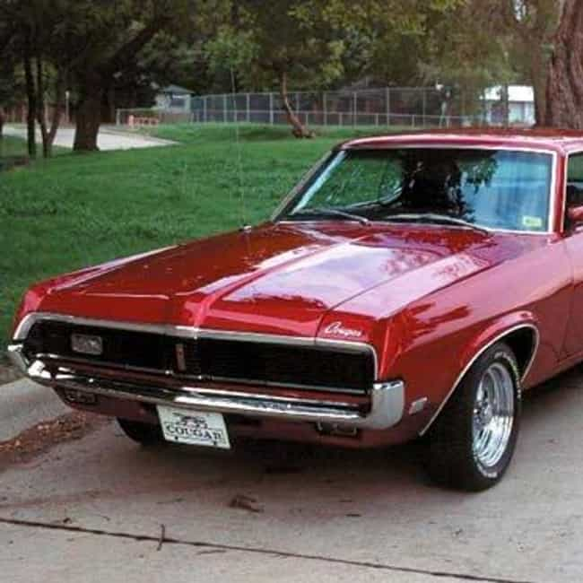 1969 Mercury Cougar is listed (or ranked) 1 on the list The Best Mercury Cougars of All Time