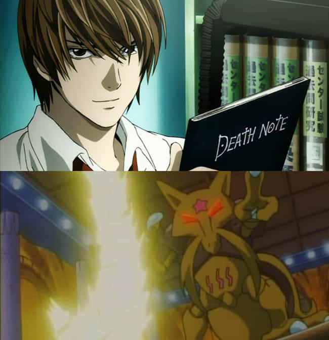 Light Yagami is listed (or ranked) 2 on the list 13 Anime Villains Choose Their Starting Pokemon