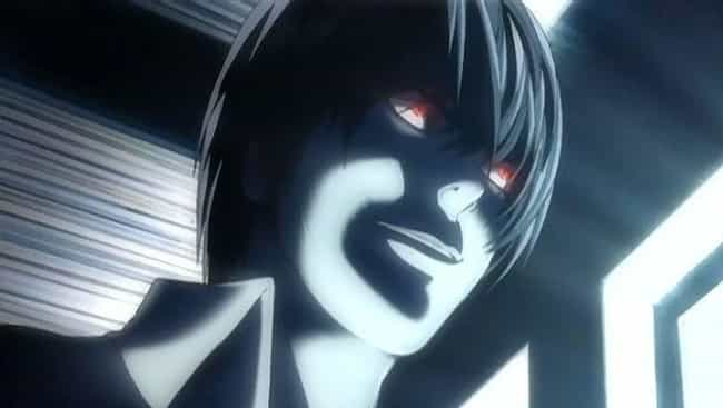 Light Yagami is listed (or ranked) 1 on the list 12 Cold-Hearted Anime Characters Who Don't Give A Damn About Anyone