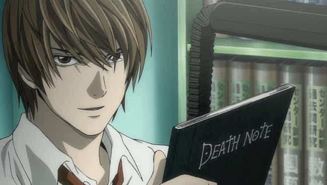 Light Yagami is listed (or ranked) 2 on the list The 16 Coolest Unconventional Anime Weapons