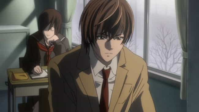 Light Yagami is listed (or ranked) 4 on the list 12 Anime Villains Who Were Actually Right All Along