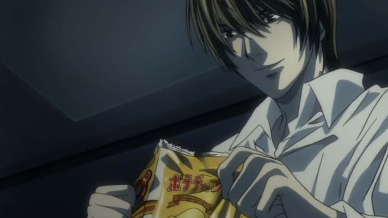 Light Yagami Loves Salty Snacks In 'Death Note'