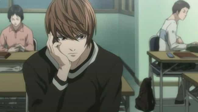 Light Yagami is listed (or ranked) 3 on the list The 15 Worst Anime Friends That Don't Deserve Anyone