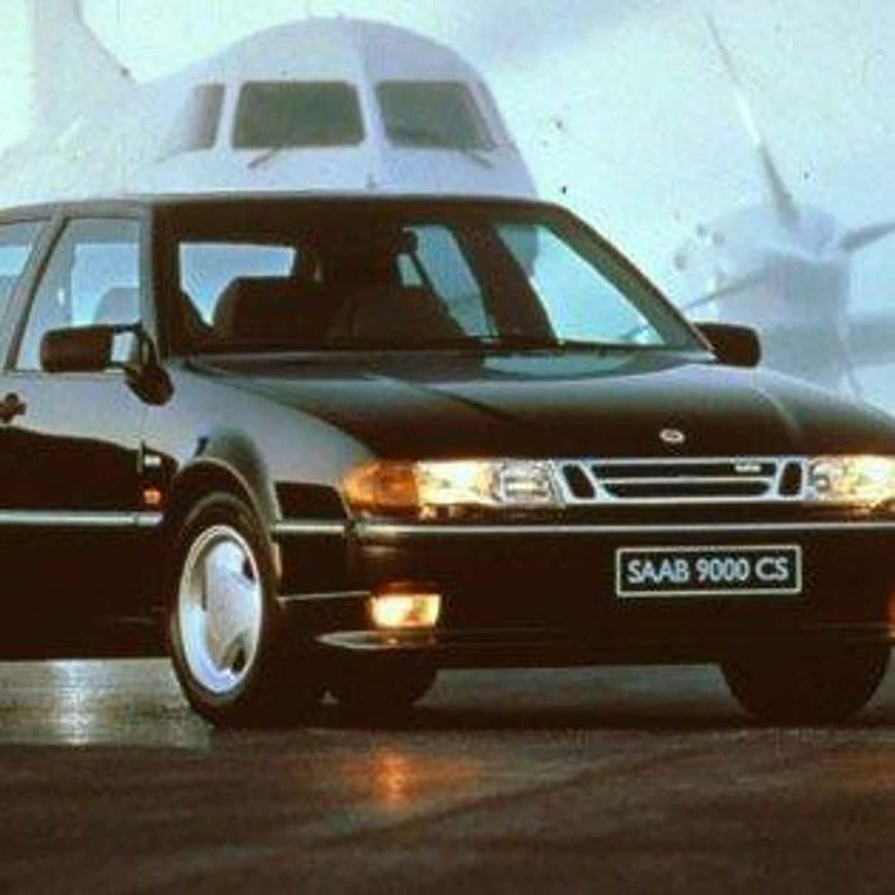 1992 Saab 9000 Hatchback is listed (or ranked) 4 on the list List of Popular Saab Hatchbacks