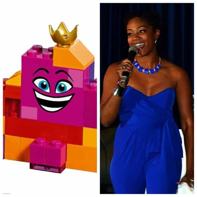 Tiffany Haddish is listed (or ranked) 4 on the list Here's Where You've Heard Or Seen Everyone In 'The Lego Movie 2' Before
