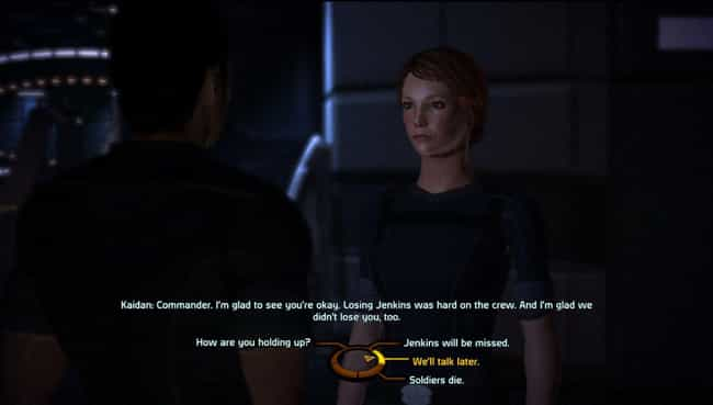 Mass Effect 2 is listed (or ranked) 2 on the list 13 RPG Video Games With The Best Dialogue