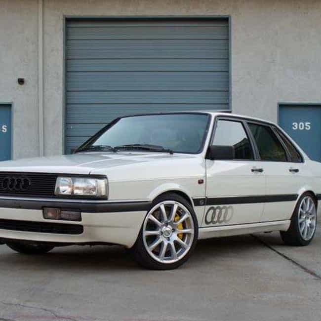 1986 Audi 4000s is listed (or ranked) 3 on the list List of All Cars Made in 1986