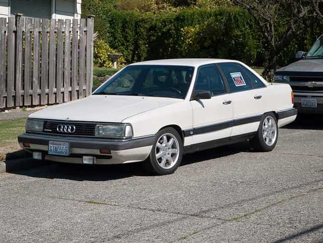 1986 4000s Audi Quattro ... is listed (or ranked) 1 on the list List of All Cars Made in 1986