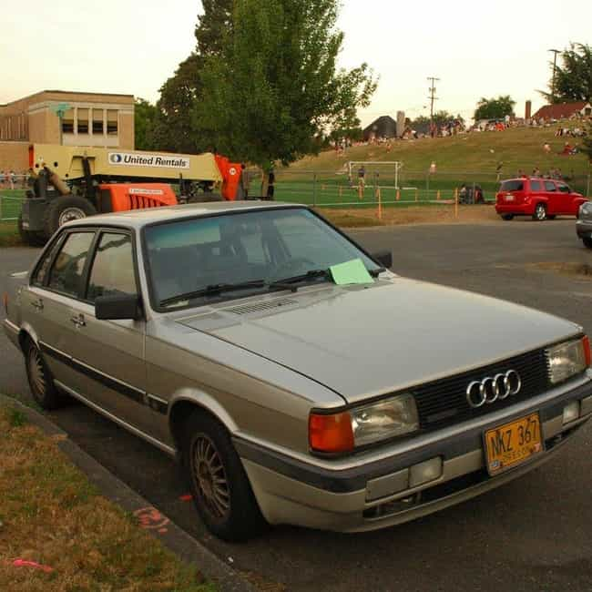 List Of Popular Audi 5000Ss With