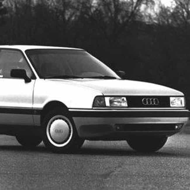 1990 Audi 80 Sedan is listed (or ranked) 4 on the list List of Popular Audi 80s