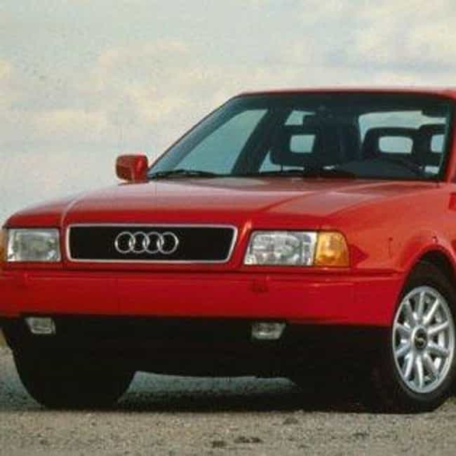 1995 Audi 90 Sedan is listed (or ranked) 3 on the list List of All Cars Made in 1995