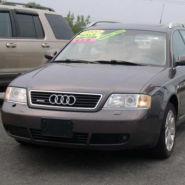2000 Audi A6 Sedan Quatt... is listed (or ranked) 4 on the list List of All Cars Made in 2000