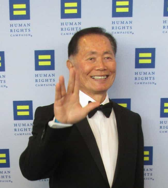 George Takei is listed (or ranked) 2 on the list 14 LGBT Celebrities Who Came Out in Old Age