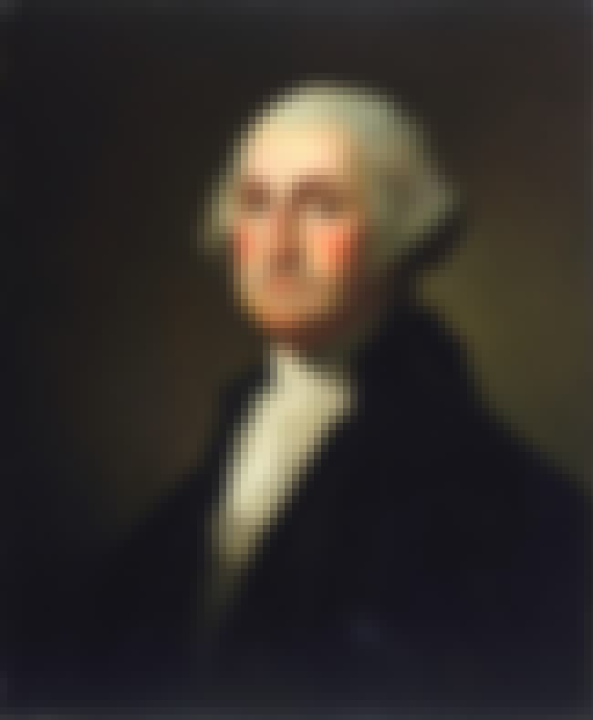 George Washington is listed (or ranked) 4 on the list Famous Pisces Celebrities