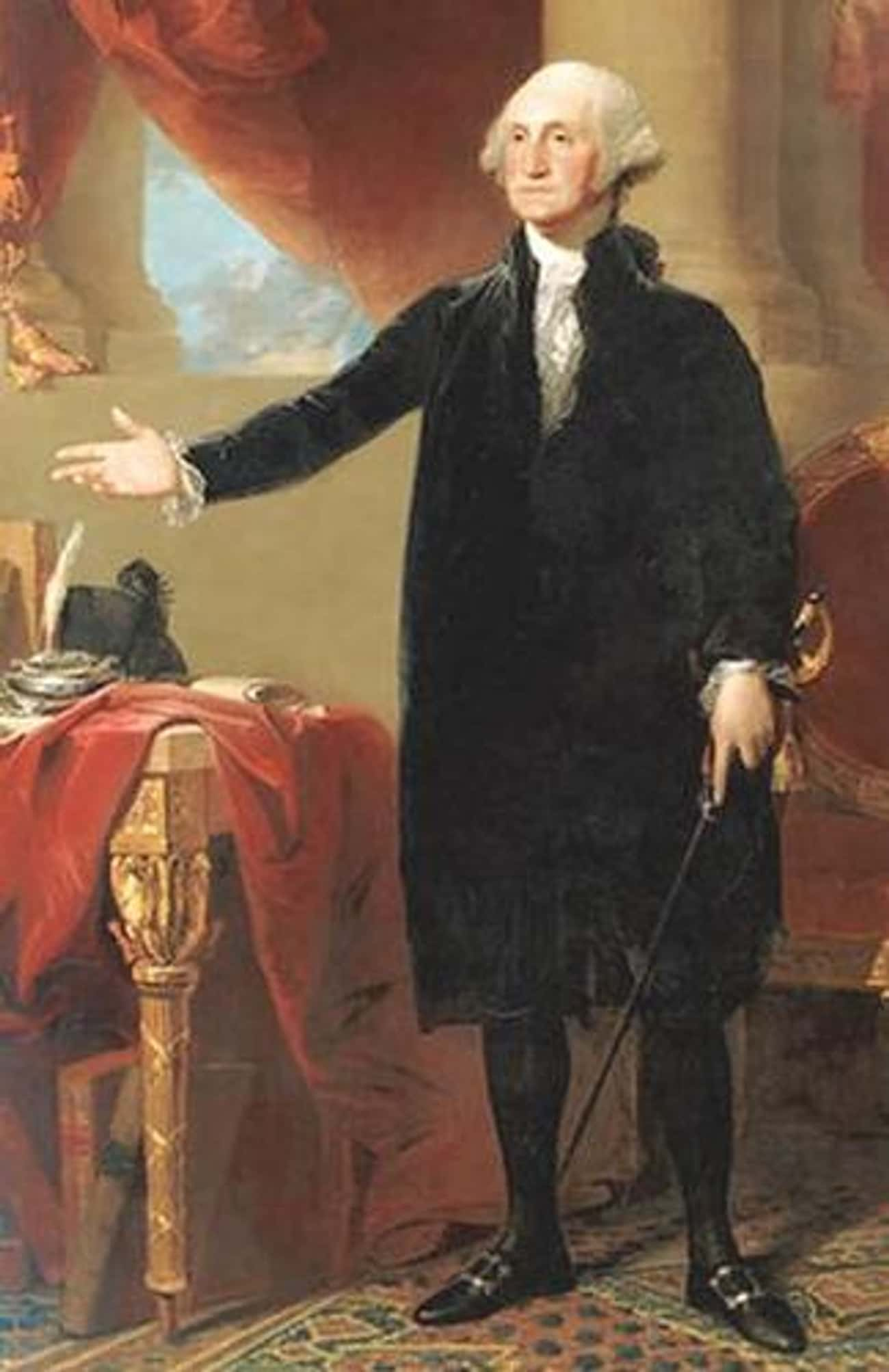 George Washington is listed (or ranked) 1 on the list The Different (Physical) Sizes Of US Presidents