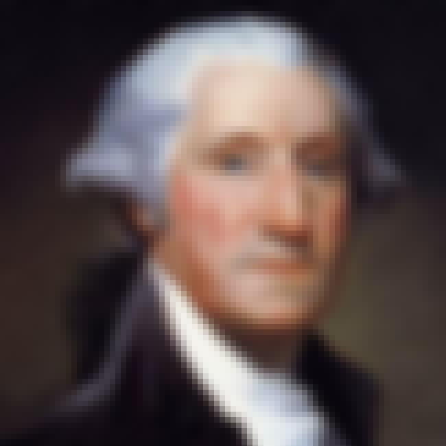 George Washington is listed (or ranked) 4 on the list Famous People Buried in United States Of America