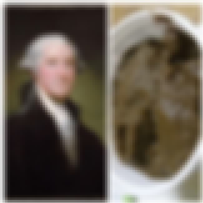 George Washington is listed (or ranked) 2 on the list The Favorite Foods Of 15 Historical Figures