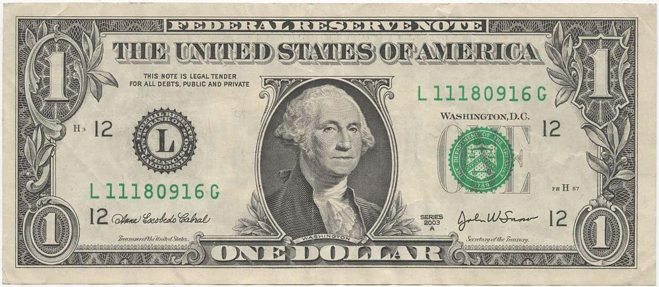 George Washington is listed (or ranked) 1 on the list US Presidents Who Appear On American Money