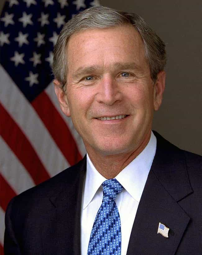 George W. Bush is listed (or ranked) 3 on the list Celebrities Who Live in Texas