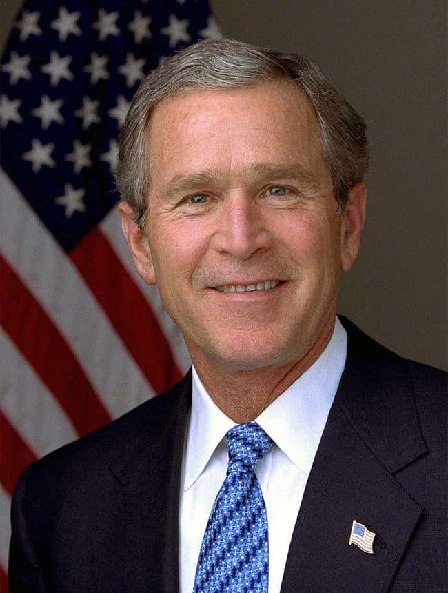 George W. Bush is listed (or ranked) 42 on the list Every U.S. President & Every Medical Problem They've Ever Had