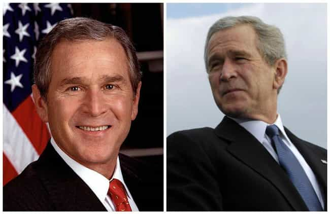 George W. Bush is listed (or ranked) 3 on the list U.S. Presidents Before and After Major Historical Events