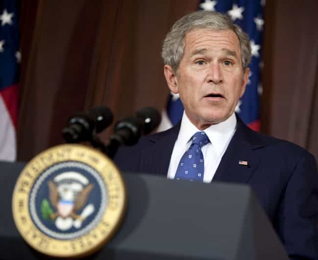 George W. Bush is listed (or ranked) 3 on the list Every Time The Supreme Court Ruled Against A United States President