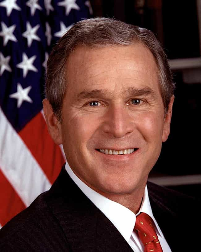 George Bush is listed (or ranked) 2 on the list 11 Politicians Who Have (Allegedly) Used Cocaine