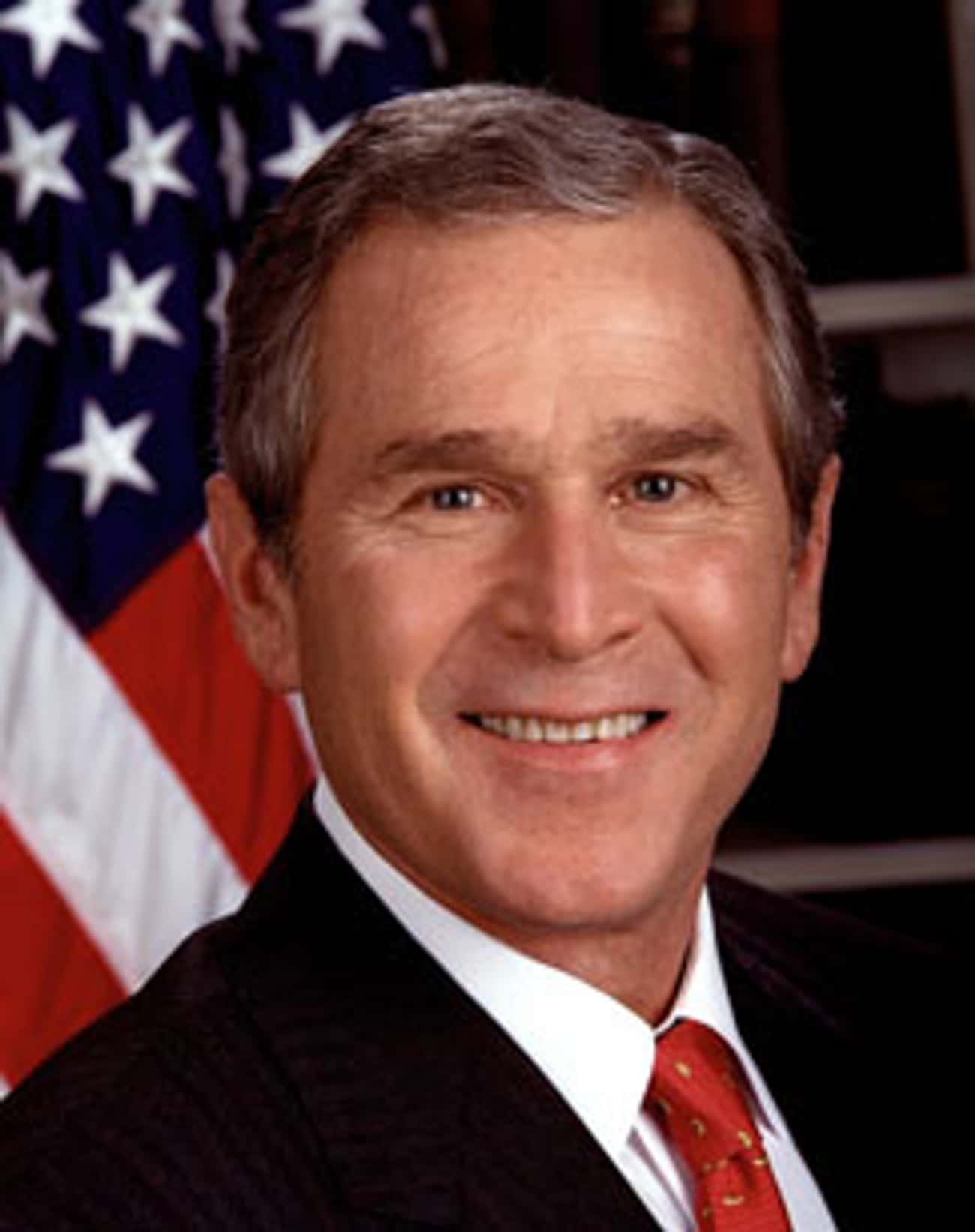 George W. Bush is listed (or ranked) 1 on the list Famous People who Majored in History