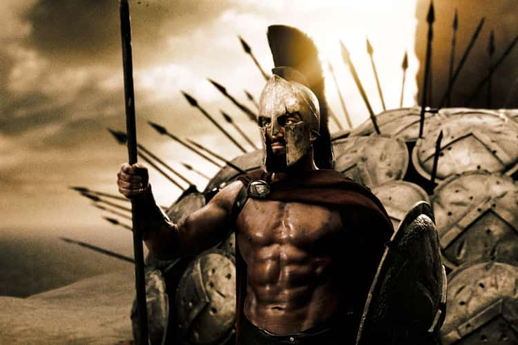 Gerard Butler As Leonidas In '300'
