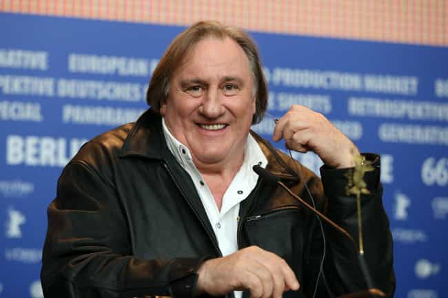 Gérard Depardieu is listed (or ranked) 1 on the list Famous Male Winemakers