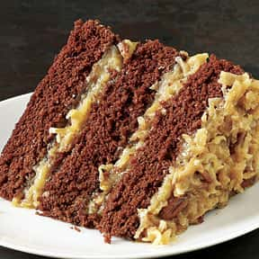 German chocolate cake is listed (or ranked) 16 on the list Every Single Type of Cake, Ranked by Deliciousness