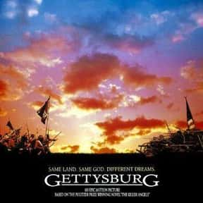 Gettysburg is listed (or ranked) 13 on the list The Best Historical Drama Movies Of All Time, Ranked