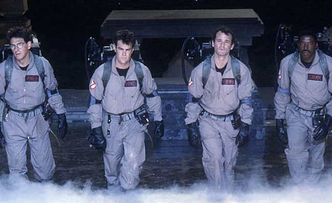 Ghostbusters is listed (or ranked) 7 on the list '80s Movie Fan Theories