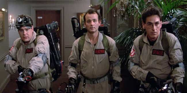 Ghostbusters is listed (or ranked) 4 on the list Surprisingly Plausible Fan Theories About Super Famous Comedy Movies