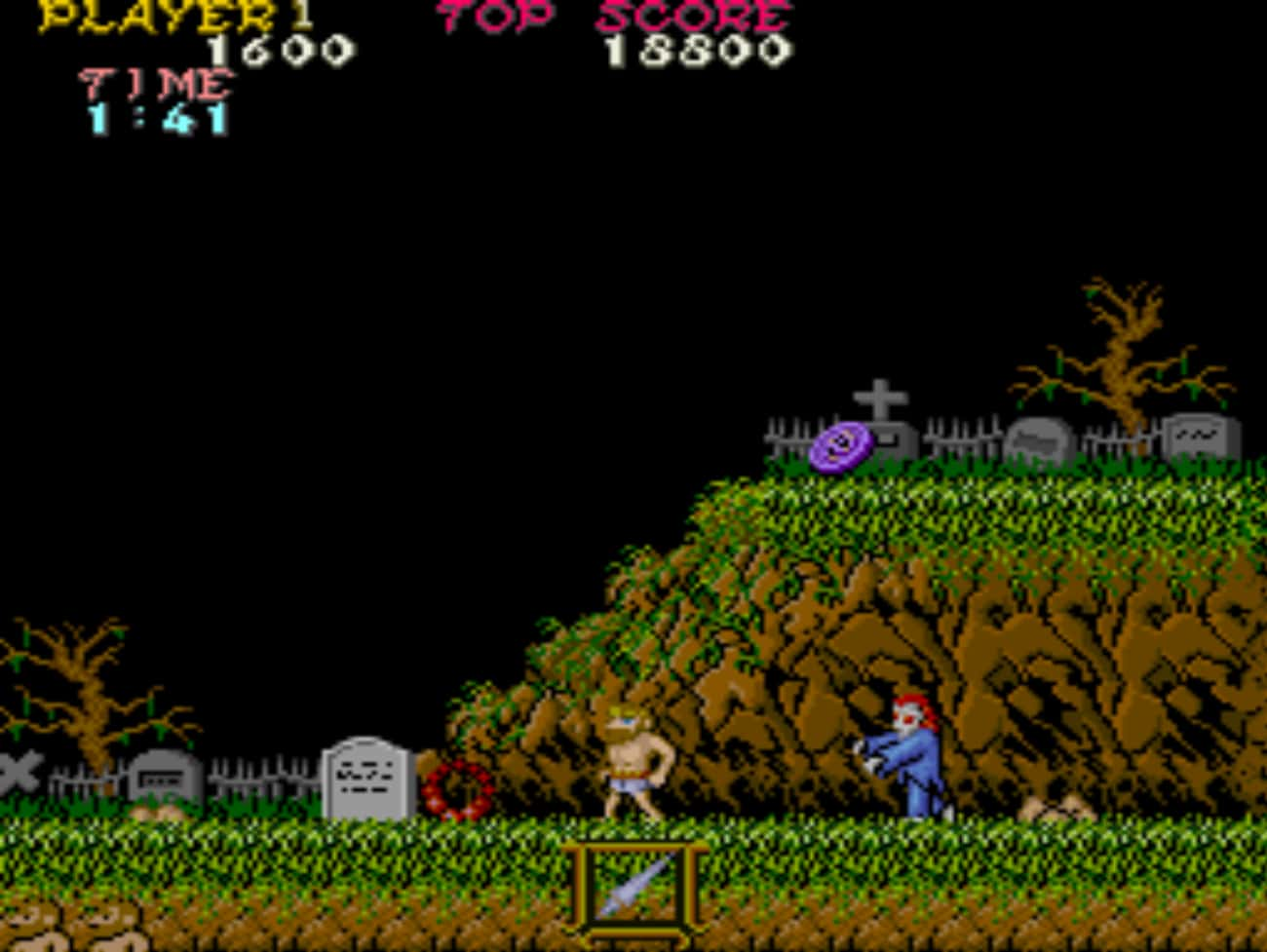 Ghosts'n Goblins is listed (or ranked) 4 on the list 20 Classic NES Games That Are So Mind-Numbingly Difficult They're Practically Unbeatable